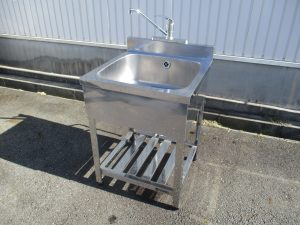 厨房機器シンク高価買取